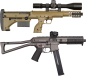 "Mobile Preview: DESERT TECH - SRS-A1 COVERT Cal. .338 Lapua Mag, 18"" Lauf"