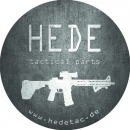 HEDE tactical parts - Outdoor Aufkleber